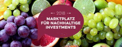 5. Marktplatz für Nachhaltige Investment, ausgerichtet von der Qualitates mit FNG, Ökofinanz 21, CRIC und Weltethos-Institut - Ankündigung